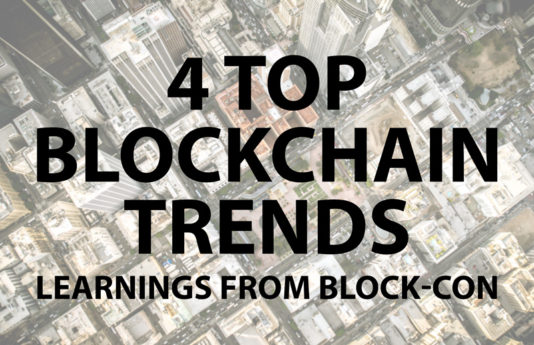 4 Top Blockchain Trends